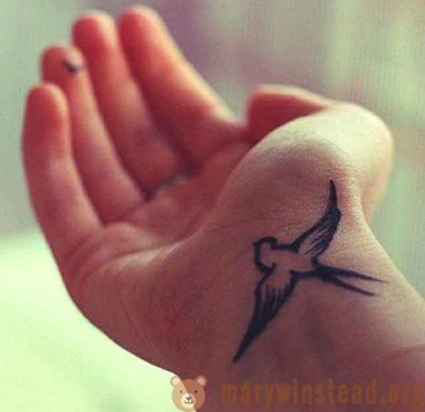 Bird Tetovaža Na Ruci Skice I Vrijednost